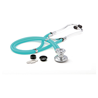 ADC ADSCOPE641 Sprague Rappaport Stethoscope Frosted Peacock (AD641Q-FP)
