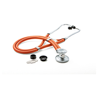 ADC ADSCOPE641 Sprague Rappaport Stethoscope Neon Orange (AD641Q-NEO)