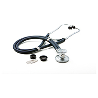critical care cardiology ADSCOPE641 Sprague Rappaport Stethoscope (AD641Q-NVY) (AD641Q-NVY)