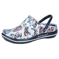 Anywear Plastic Clog Butterfly Oasis (ALEXIS-BUOA)