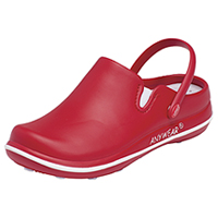 Anywear Plastic Clog Red (ALEXIS-RED)