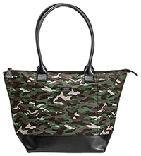 Code Happy Code Happy Cura Fashion Tote Bag Camo/Black (CHCB-CAM115)