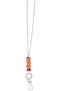 Cherokee Bling ID/Eye Glass Lanyard Red (CMCL-RED)