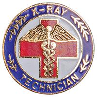 Cherokee Emblem Pin X-Ray Technician (CMEP-5063)