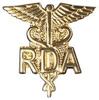 Cherokee Emblem Pin RDA on Caduceus (CMEP-950)