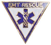 Cherokee Emblem Pin EMT Rescue (CMEP-977)