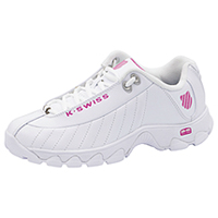 K-Swiss Footwear Athletic with foam insoles White,Pink (CMFST329-WHP)