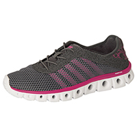 K-Swiss Ahtleisure Footwear Charcoal/BeetrootPurple (CMFXATHLEISURE-CBRP)