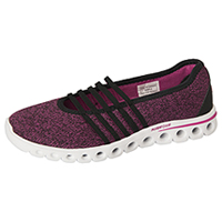 K-Swiss Athleisure Footwear Black/VeryBerry (CMFXLITEMJ-BVB)