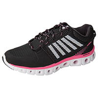 K-Swiss Athletic with Foam insoles Black,PinkLemonade,White (CMFXLITE-BPLW)