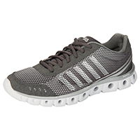 K-Swiss Athletic with Foam insoles Charcoal/Highrise/White (CMFXLITE-CHW)