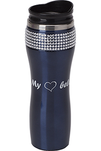 Cherokee Coffee Tumbler with Bling Black (CMGCT-BK)