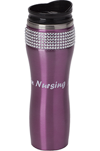 Cherokee Coffee Tumbler with Bling Pink (CMGCT-PINK)