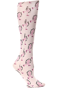 Celeste Stein Knee High 8-15 mmHg Compression D'Feet Breast Cancer (CMPS-1247)