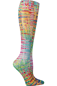 Celeste Stein Knee High 8-15 mmHg Compression Rainbow Tweed (CMPS-1878)