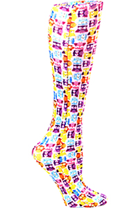 Celeste Stein Knee High 8-15 mmHg Compression Tiny Owls (CMPS-1905)