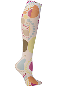 Celeste Stein Knee High 8-15 mmHg Compression Happy Twister (CMPS-1928)