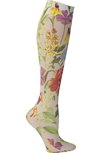 Celeste Stein Knee High 8-15 mmHg Compression White Bellagio (CMPS-1950)