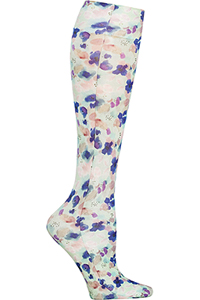 Celeste Stein Knee High 8-15 mmHg Compression Watercolor Flowers (CMPS-2110)