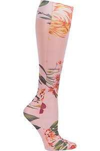 Celeste Stein Knee High 8-15 mmHg Compression Pink Floral (CMPS-2143)
