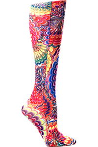 Celeste Stein Knee High 8-15 mmHg Compression Austin Powers (CMPS-341)