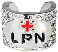Cherokee Crystal Stethoscope Charm LPN (CMSCHARM-LPN115)