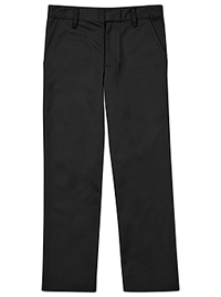 Classroom Uniforms Flat Front Pant Black (CR003H-BLK)