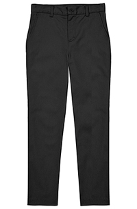 Classroom Uniforms Flat Front Pant Black (CR101Y-BLK)