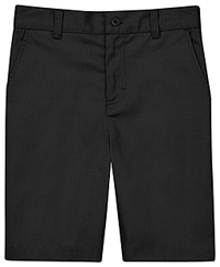 Classroom Uniforms Flat Front Short Black (CR201K-BLK)
