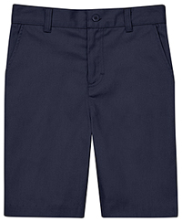 Classroom Uniforms Flat Front Short Dark Navy (CR201K-DNVY)