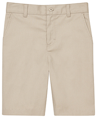 Classroom Uniforms Flat Front Short Khaki (CR201K-KAK)