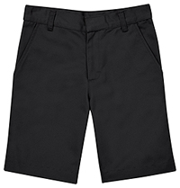 Classroom Uniforms Flat Front Short Black (CR203X-BLK)