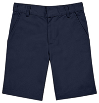 Classroom Uniforms Flat Front Short Dark Navy (CR203X-DNVY)