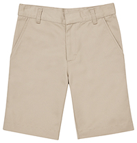Classroom Uniforms Flat Front Short Khaki (CR203Y-KAK)