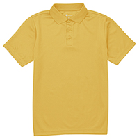 Classroom Uniforms Youth Unisex Moisture Wicking Polo Gold (CR860Y-GOLD)