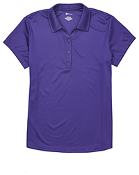 Classroom Uniforms Juniors Moisture Wicking Polo Dark Purple (CR864X-DKPR)