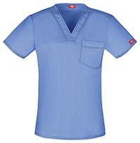 Dickies Unisex V-Neck Top Ceil Blue (DK801-CBLZ)