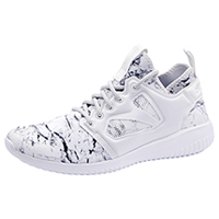 Reebok Athletic Footwear White,Steel,RoseGold (EVOLUTION-WSRG)