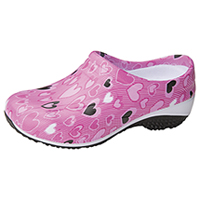 Anywear Slip Resistant Injected Closed Back Clog All About Love (EXACT-AABL)