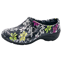 Anywear Slip Resistant Injected Closed Back Clog Bouquet Me Not (EXACT-BOMN)