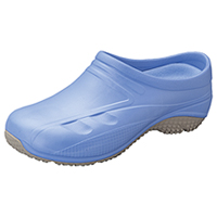 Anywear Slip Resistant Injected Closed Back Clog Ciel Blue (EXACT-CIE)