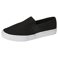 Fila USA Slip On Footwear Black/White (FANELLI-F013)