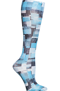 Cherokee Knee Highs 12 mmHg Compression All Layered Up (FASHIONSUPPORT-ADUP)