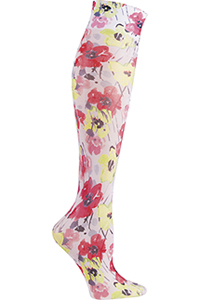Cherokee Knee Highs 12 mmHg Compression Awash In Color (FASHIONSUPPORT-AWIN)
