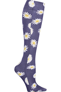 Cherokee Knee Highs 12 mmHg Compression Fleur Promenade (FASHIONSUPPORT-FLPM)