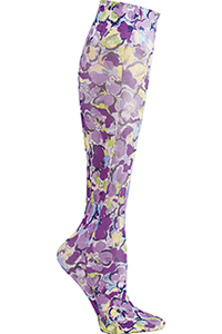 Cherokee Knee Highs 12 mmHg Compression Florabelle (FASHIONSUPPORT-FRAB)