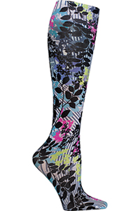 Cherokee Knee Highs 12 mmHg Compression I'll Leaf You To It (FASHIONSUPPORT-IILF)