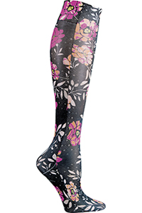 Cherokee Knee Highs 12 mmHg Compression Mixed Petals (FASHIONSUPPORT-MXPT)