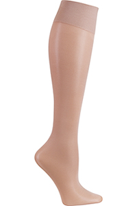 Cherokee Knee Highs 12 mmHg Compression Nude (FASHIONSUPPORT-NUDE)