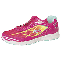 Fila USA Athletic Footwear PinkGlo/SafetyYellow/ArubaBlue (FINADO-F693)